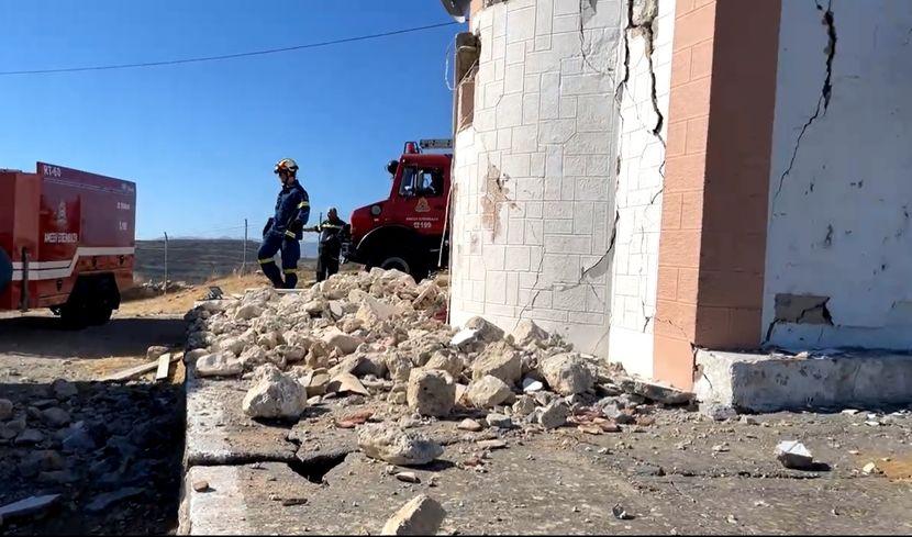 Уште еден силен земјотрес го погоди Крит