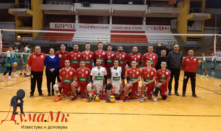 """Победа на одбојкарите на """"Борец"""" во Струмица"""