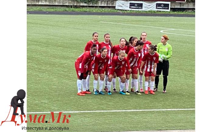 Прва фудбалска лига – жени: Дерби без голови во Велес