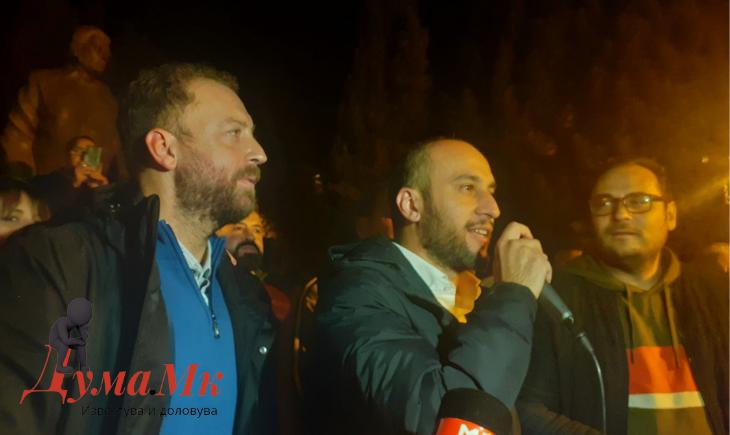 Здравковски, Колев и Љутков прогласија победа на ВМРО-ДПМНЕ во Велес (ФОТО и ВИДЕО)