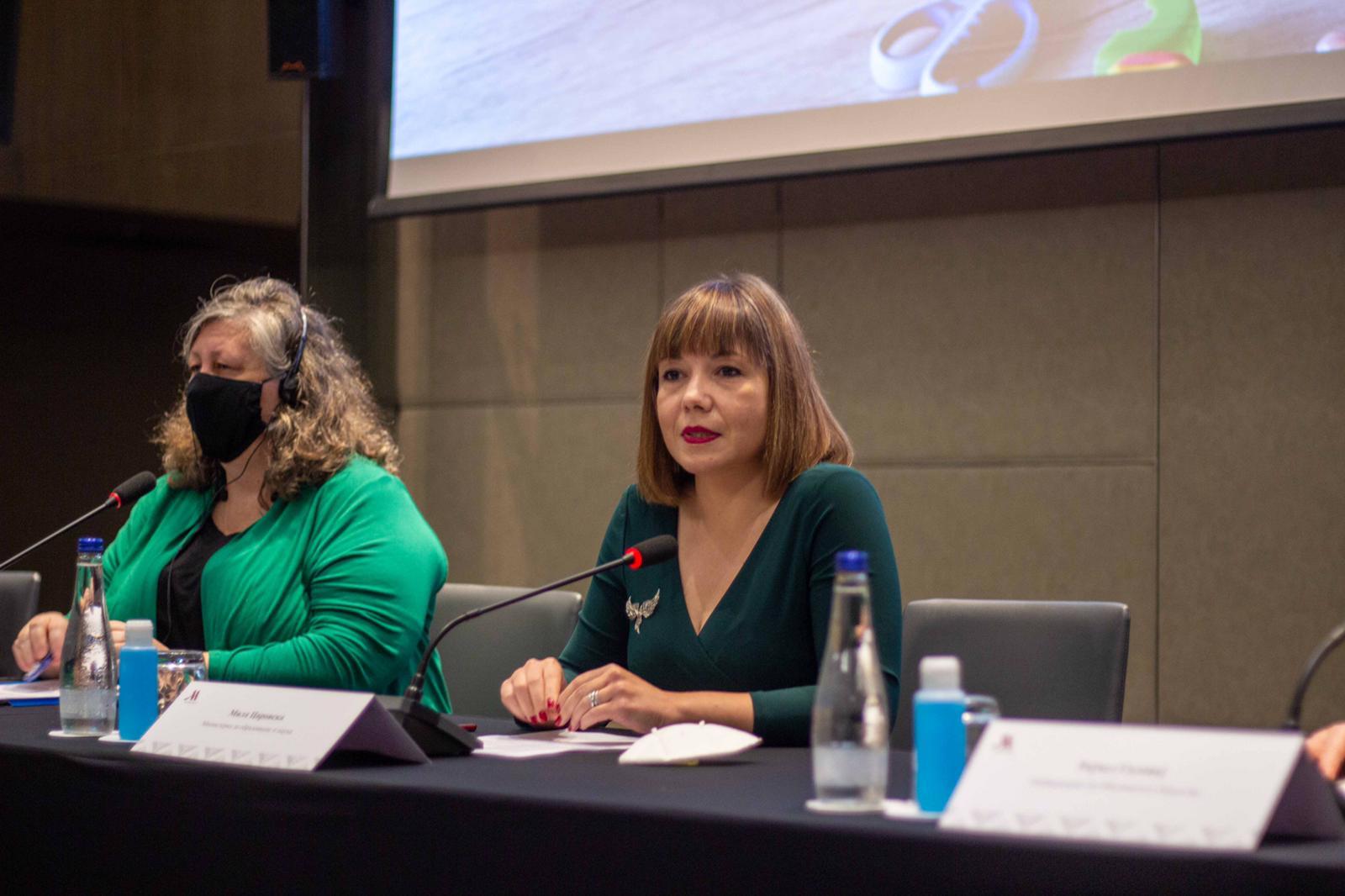 Царовска од Подгорица: Дигитализацијата во образованието не е само тренд, туку огромна потреба